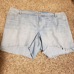 Old Navy Plus Size Denim Shorts Size 26
